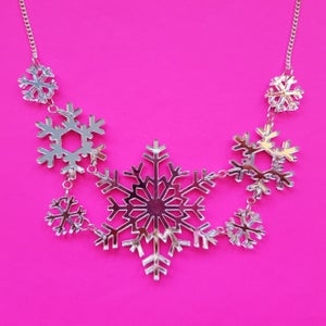 Image of Snowflake Necklace