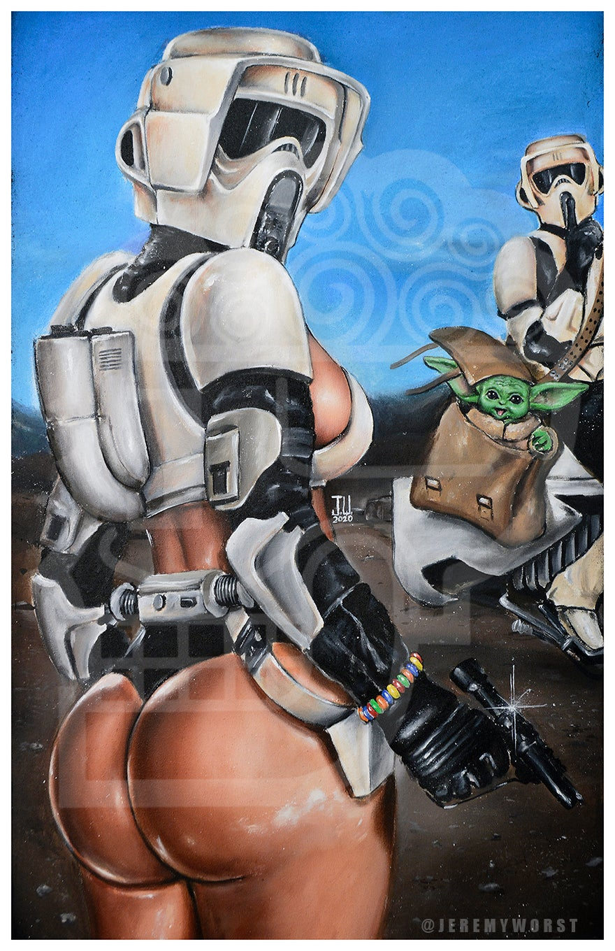 Image of Scout Troopers by Jeremy Worst