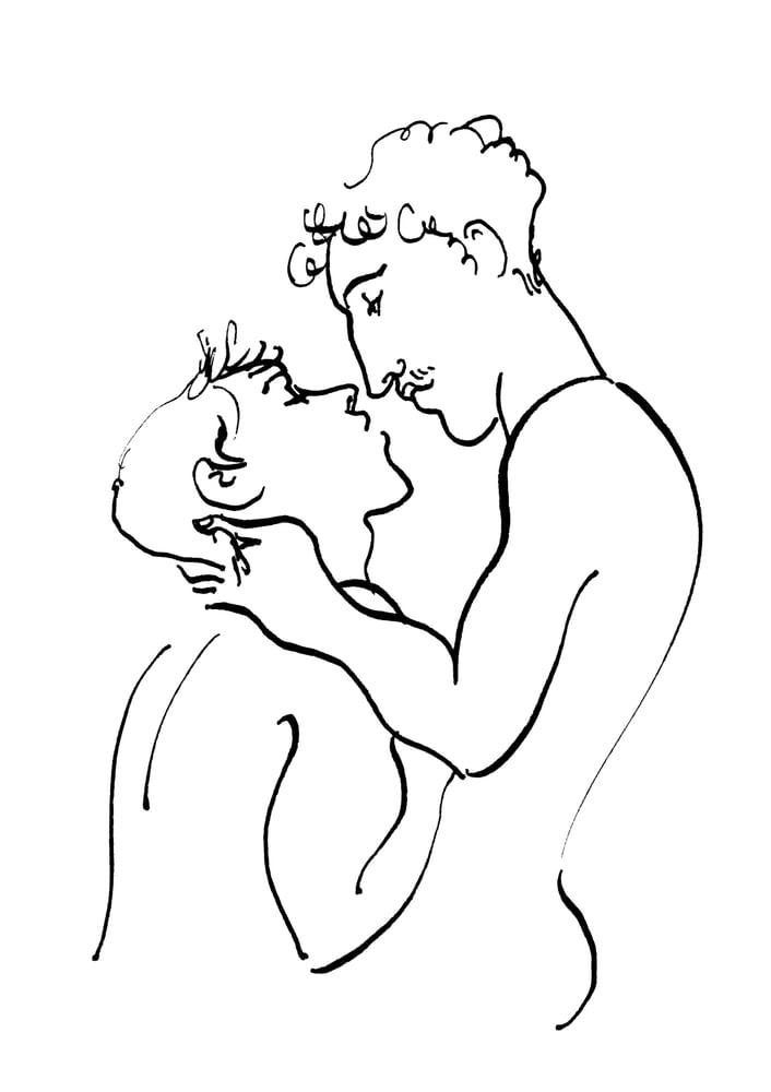 Image of Amoureux - tirages limités A5/A4