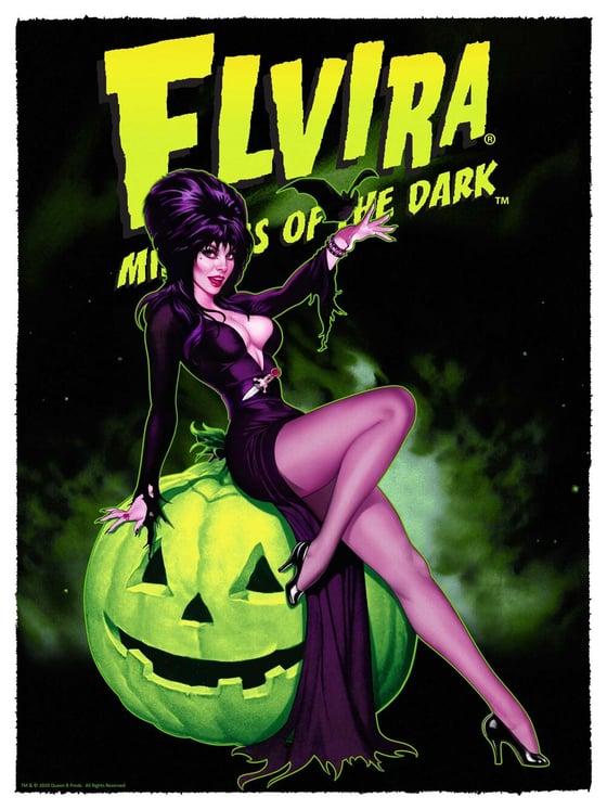 Image of Elvira: Mistress of the Dark - Green Edition