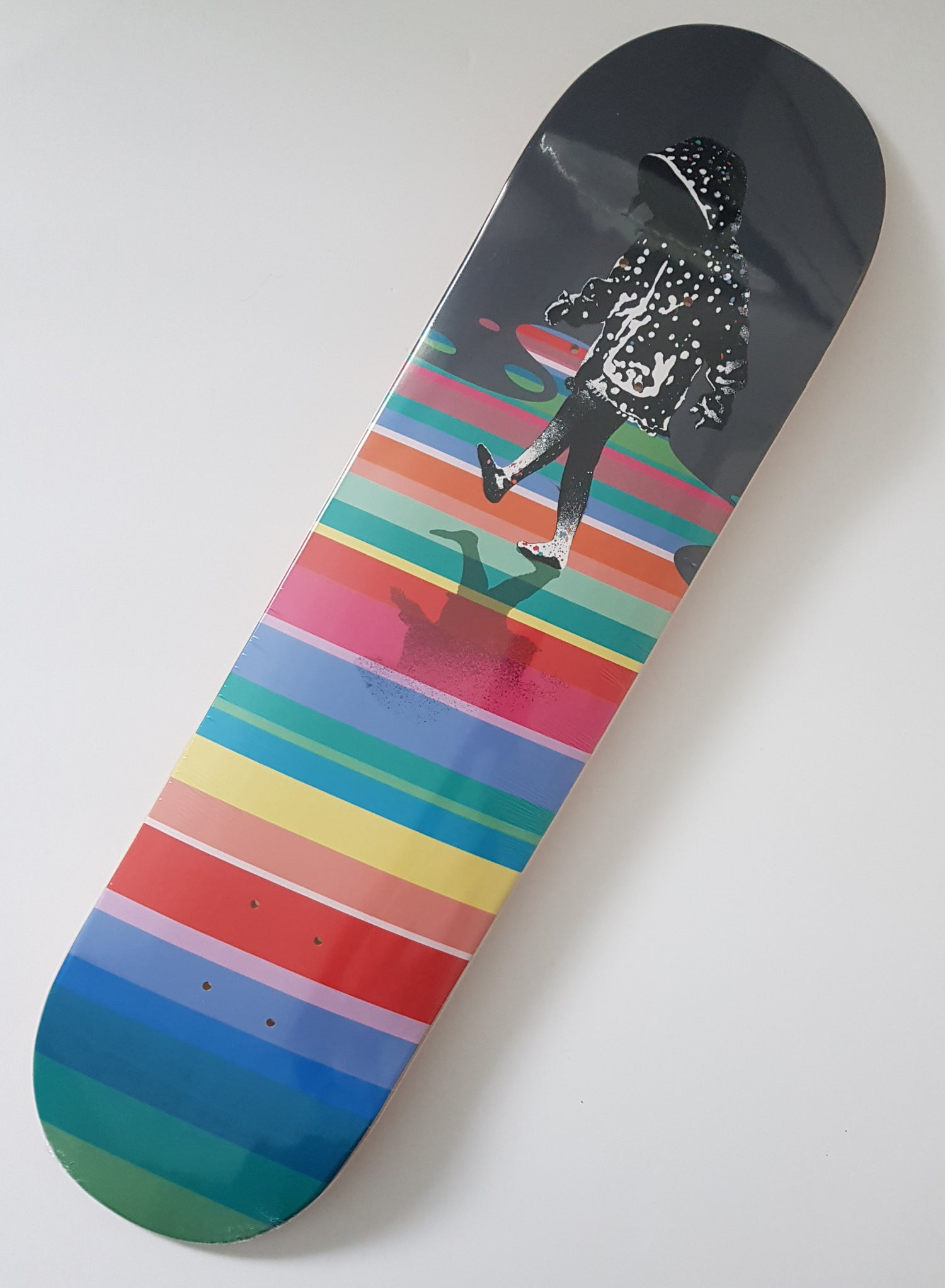"""Image of EELUS """"AFTER THE RAIN"""" LIMITED EDITION SKATE DECK - 70CM X 20CM WITH COA"""