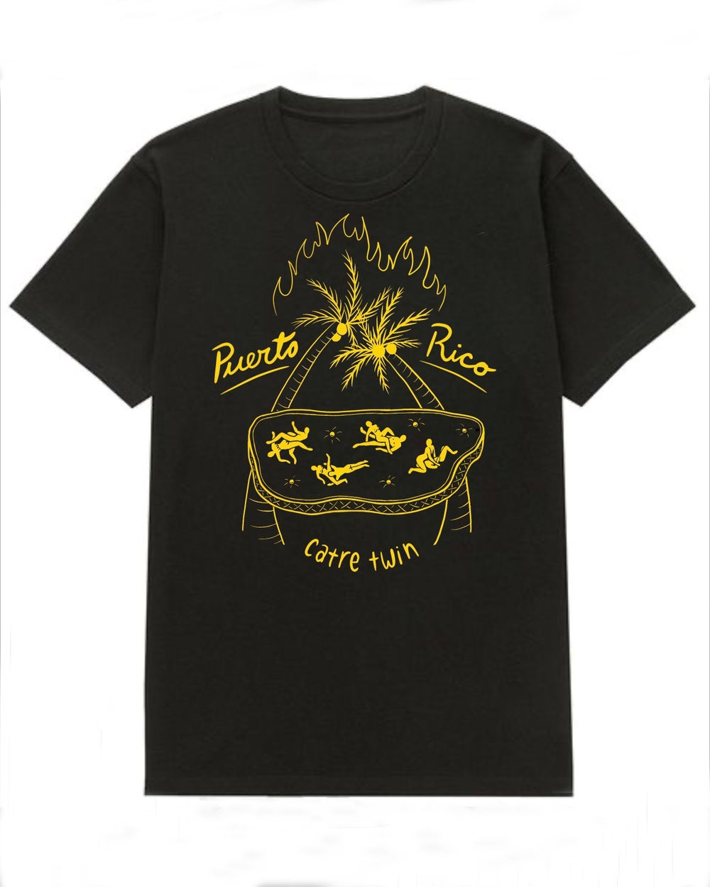 Image of PRE-ORDER: Puerto Rico Catre Twin T-SHIRT