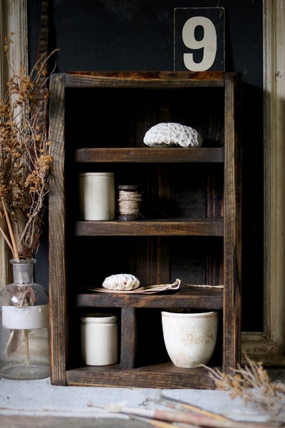 Image of Rustic Wooden Cubby/Crate