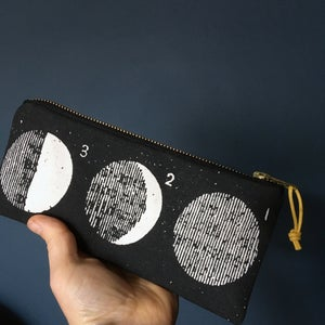 Image of Moon Phases pencil case