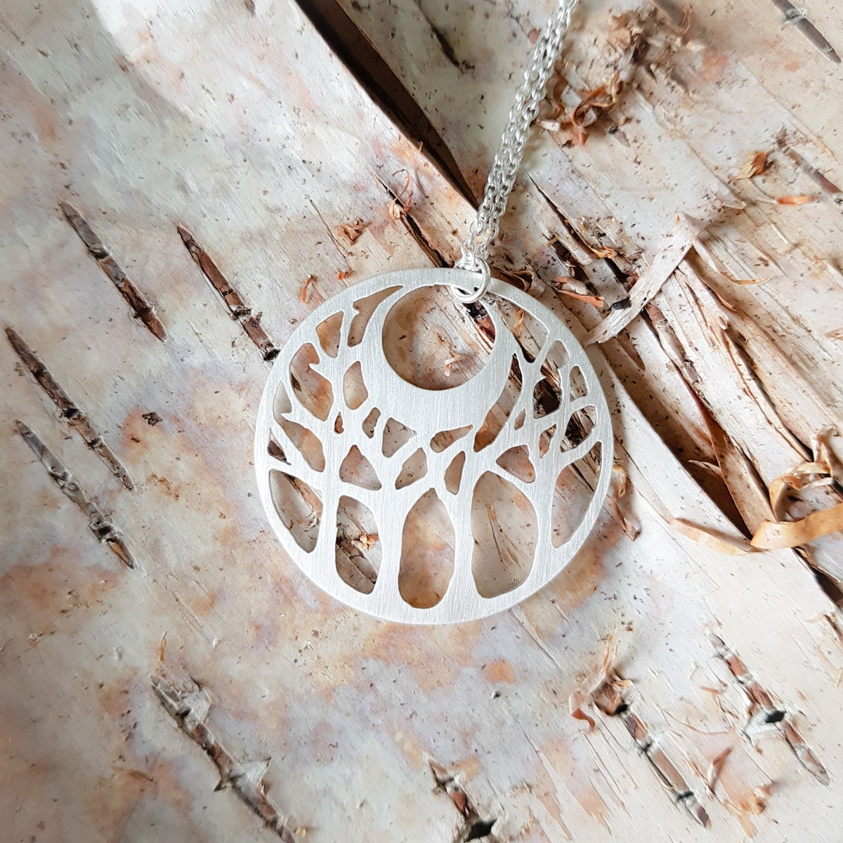 Image of The Forest Holds the Moon Made-to-Order Pendant