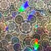 Mandala Mouse | Holographic Sticker