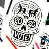 When the Going Gets Weird, the Weird Go Vote
