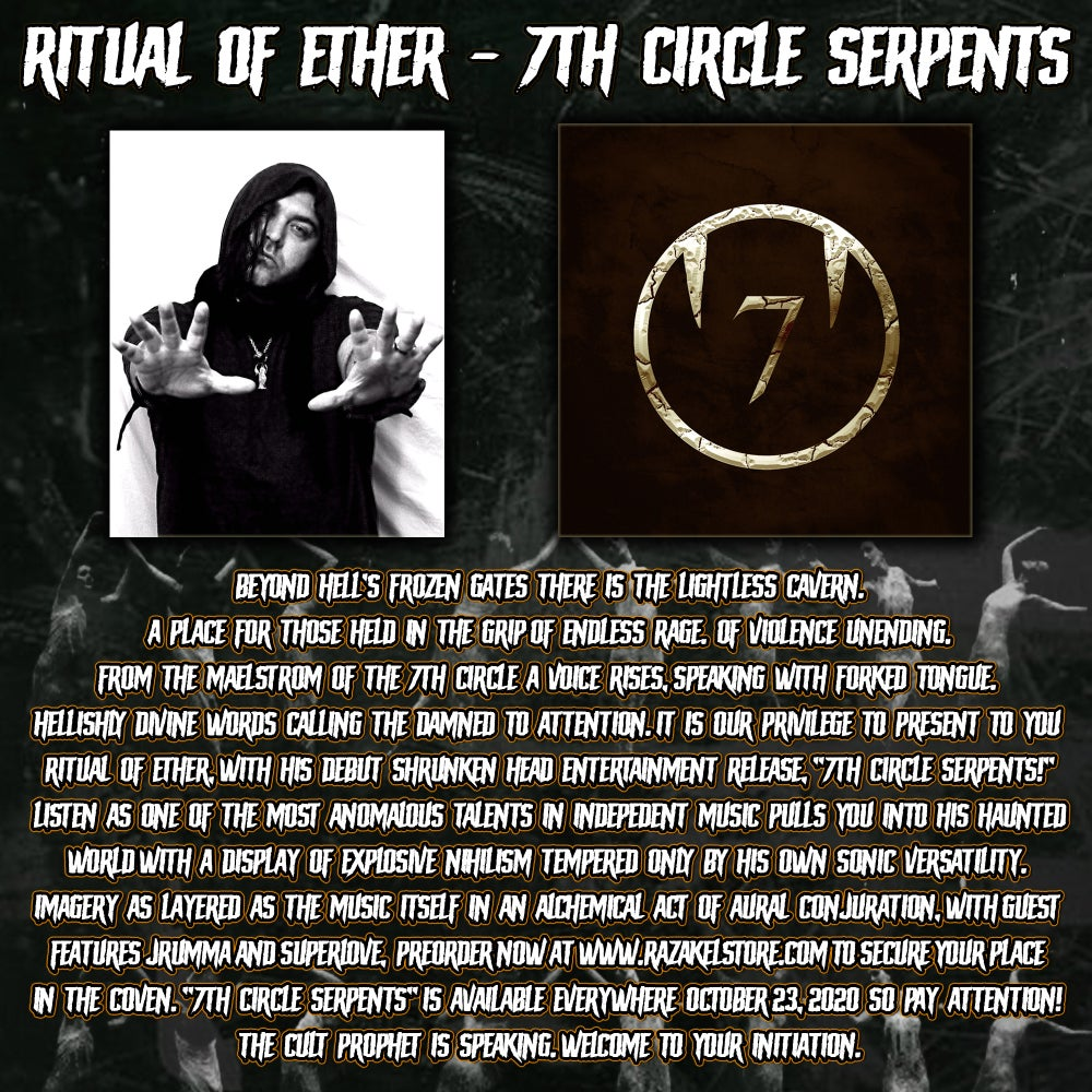 Ritual of Ether - 7th Circle Serpents (CD)
