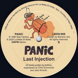 "Image of Panic - Dialated Rhythms/Last Injection (12"" reissue)"