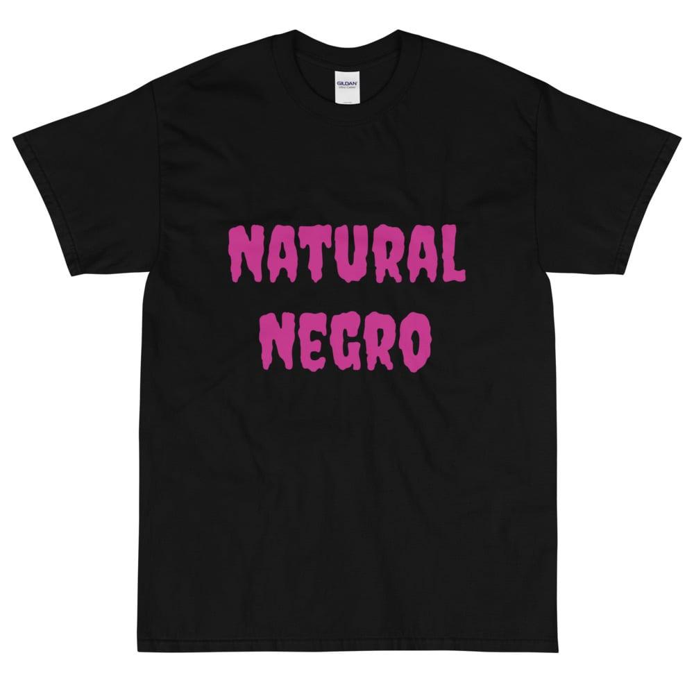 Image of Natural Negro Short Sleeve T-Shirt