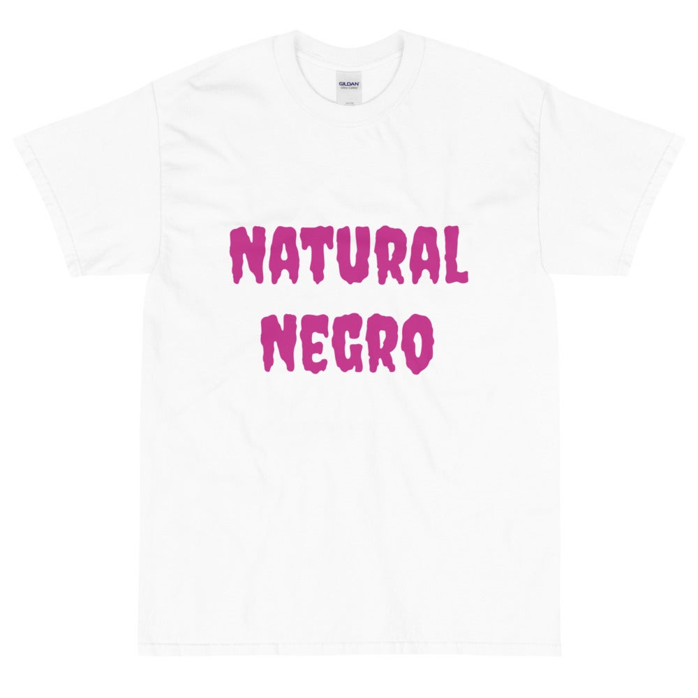Image of Natural Negro Short Sleeve T-Shirt