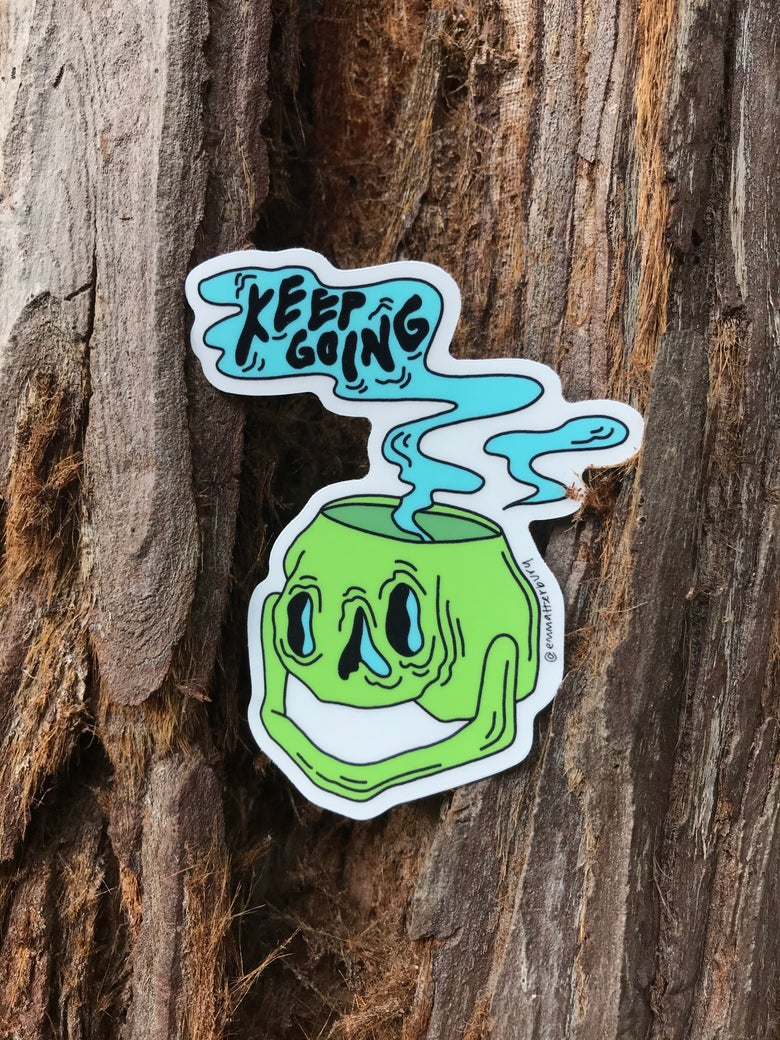 Image of Keep Going Sticker