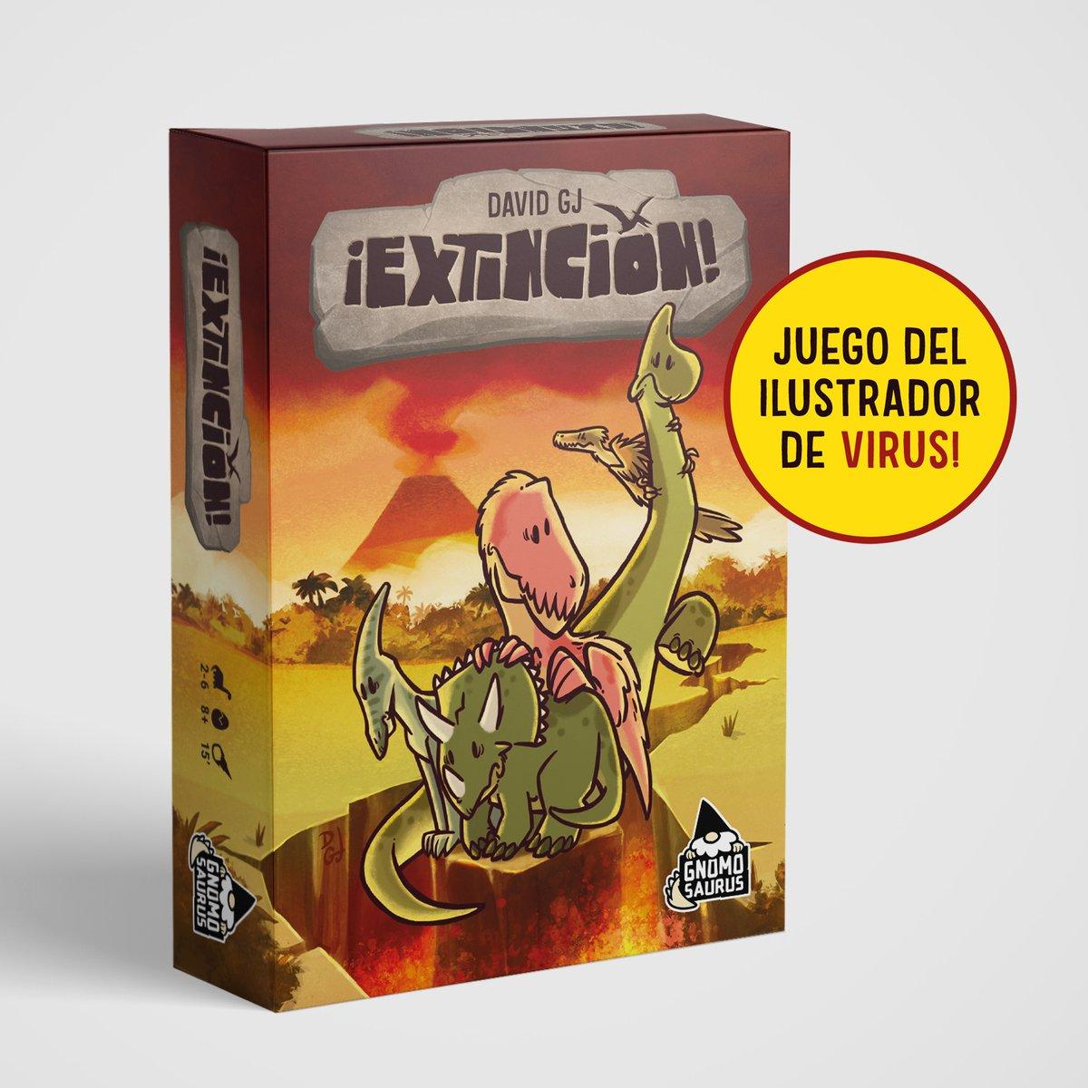Image of ¡EXTINCIÓN! (Juego de cartas)