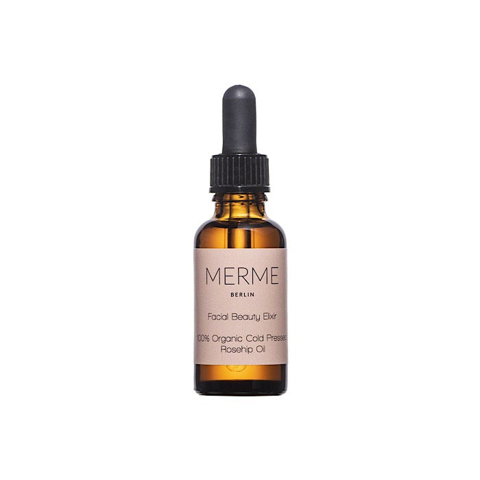Image of MERME BERLIN -  FACIAL BEAUTY ELIXIR - 100% Organic Rosehip Oil
