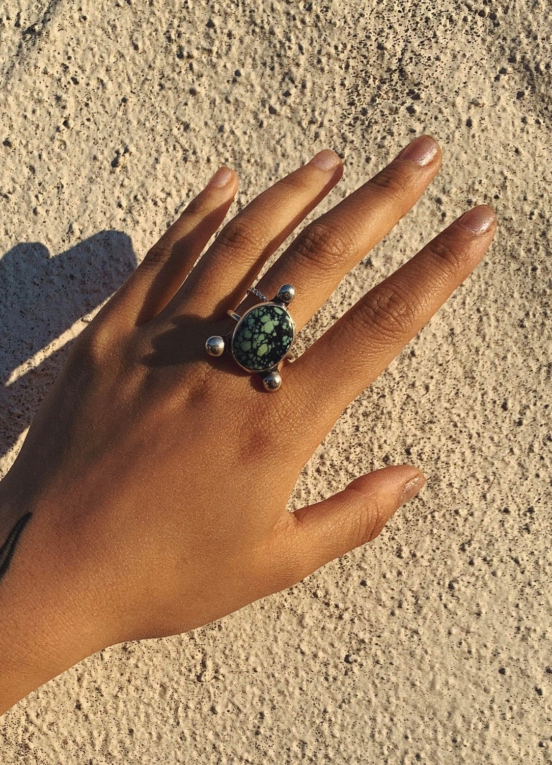 Image of Variscite Space Ring