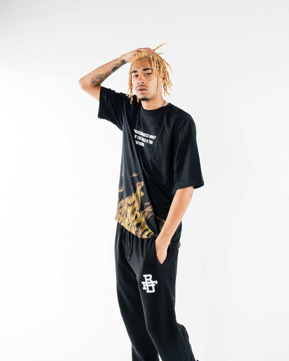 JOGGERS BLACK BFD 004