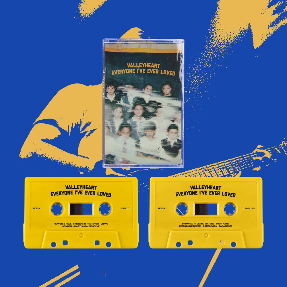 "VALLEYHEART - ""EVERYONE I'VE EVER LOVED"" CASSETTE TAPE"