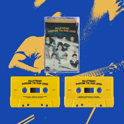 "Image of VALLEYHEART - ""EVERYONE I'VE EVER LOVED"" CASSETTE TAPE"