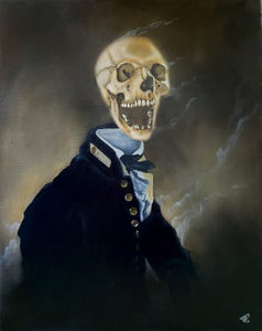 """Image of Bloody Bones 16""""x20"""" Oil Painting"""