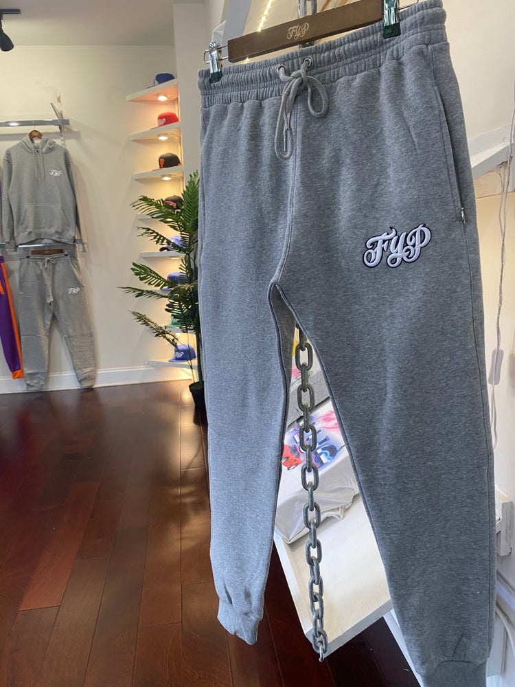 Image of Grey Pull Over Suit