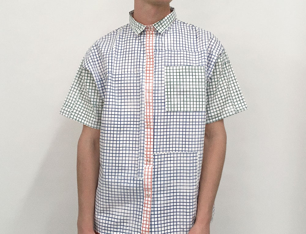 Image of COLOR GRID SHIRT