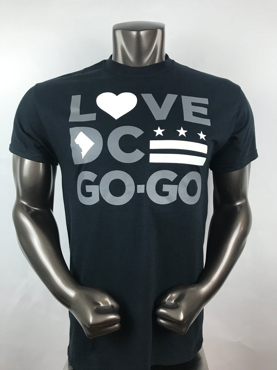 Image of Love DC GoGo - Celebrity Hall T-shirt