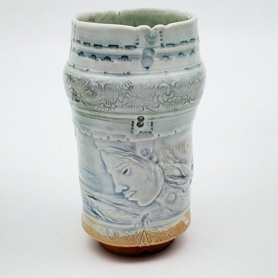 Image of Woodfired Serenity Porcelain Vase