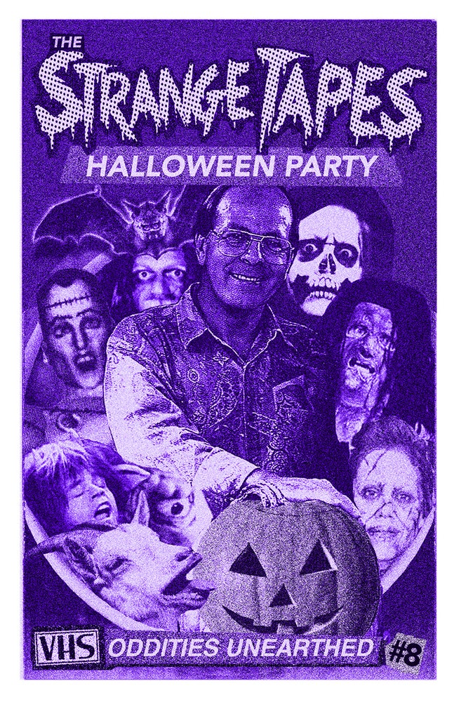 Image of The Strange Tapes Halloween Party (Issue #8)