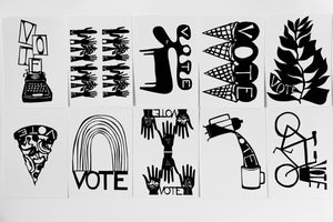 Image of Vote Postcard 10-Pack