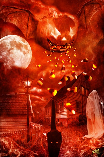 Image of The Spirit of All Halloween - 6x9 print - Signed