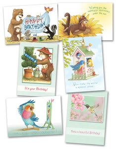 Image of BD04 BIRTHDAY CARDS