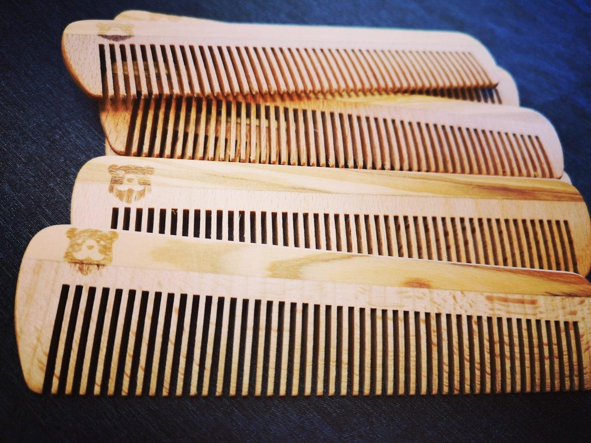 Burly beard combs