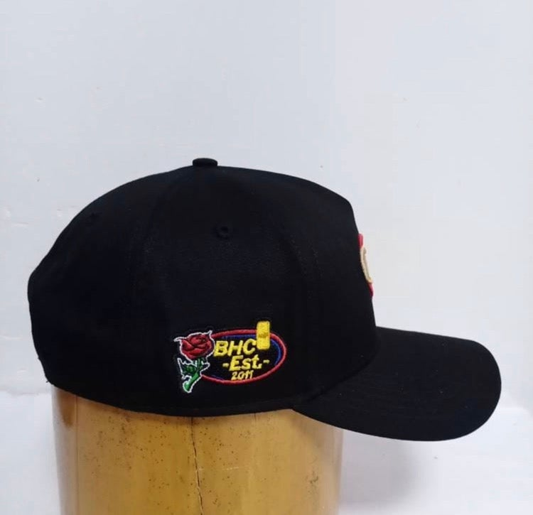 Image of BHC Hat (SnapBack) Black (shipping included)