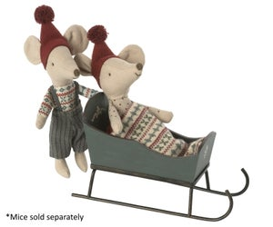 Image of Maileg - Sleigh Mouse (Pre-order)