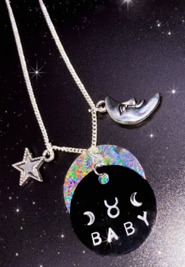 Image of astrology baby necklaces