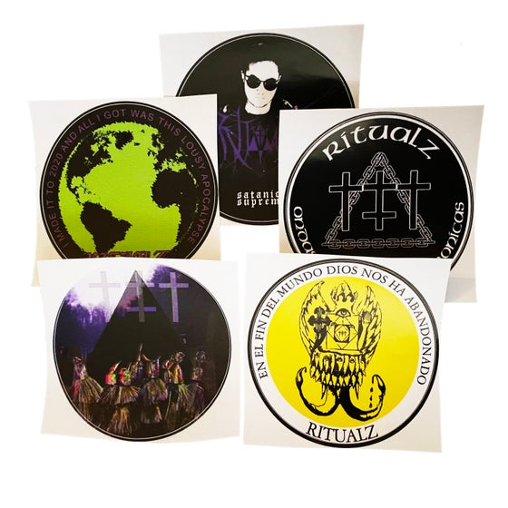 Image of APOCALYPSE STICKER PACK