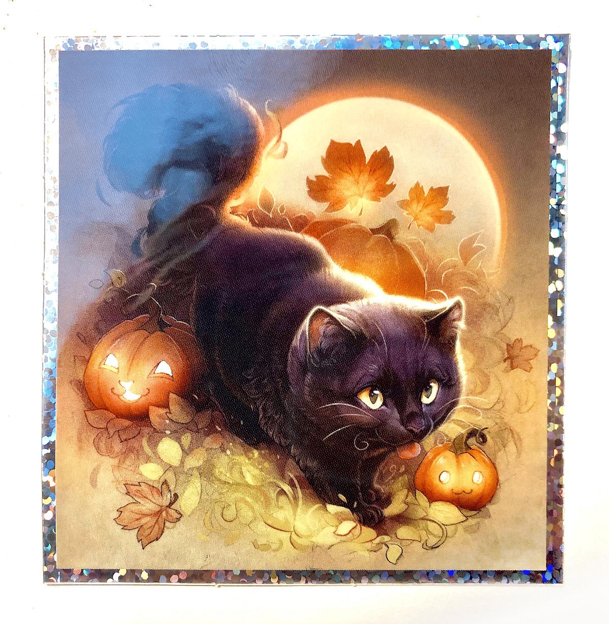 Halloween Kitty (Sticker)