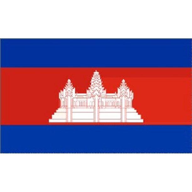 Image of 3x5 Cambodia Flag