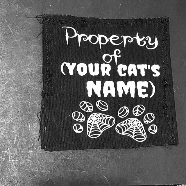 Image of Custom Cat Toy with your pet's name
