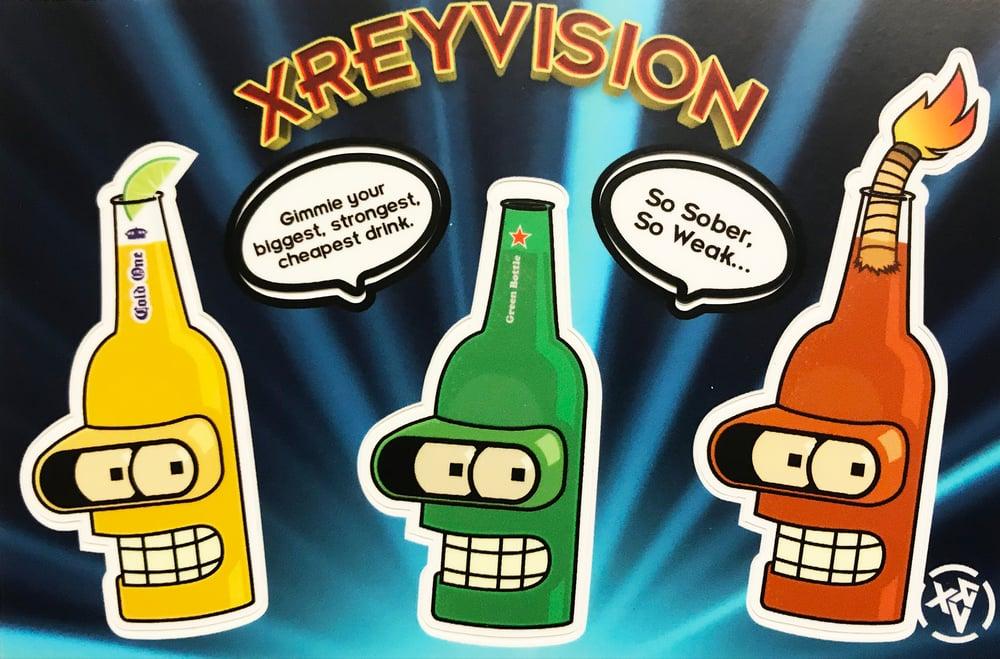 Image of Beer Bender Sticker Sheet