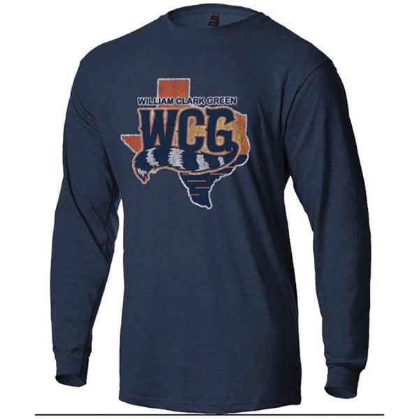 Image of WCG Texas Logo Long Sleeve Tee