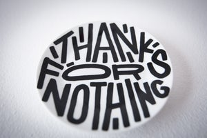 Image of Thanks for nothing