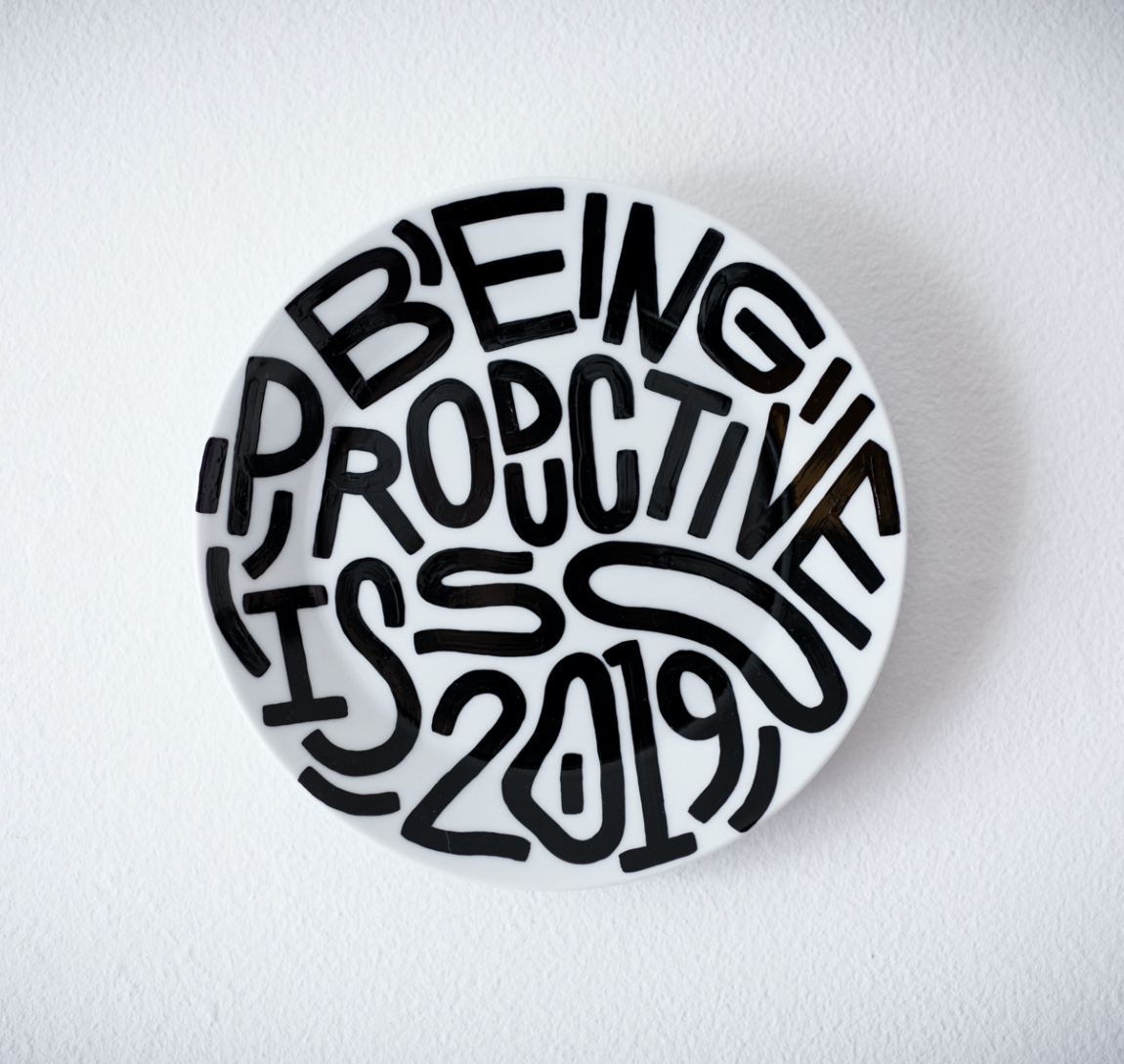 Image of Being productive is so 2019