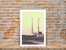 Image 2 of Poolbeg Chimneys Limited Edition Print