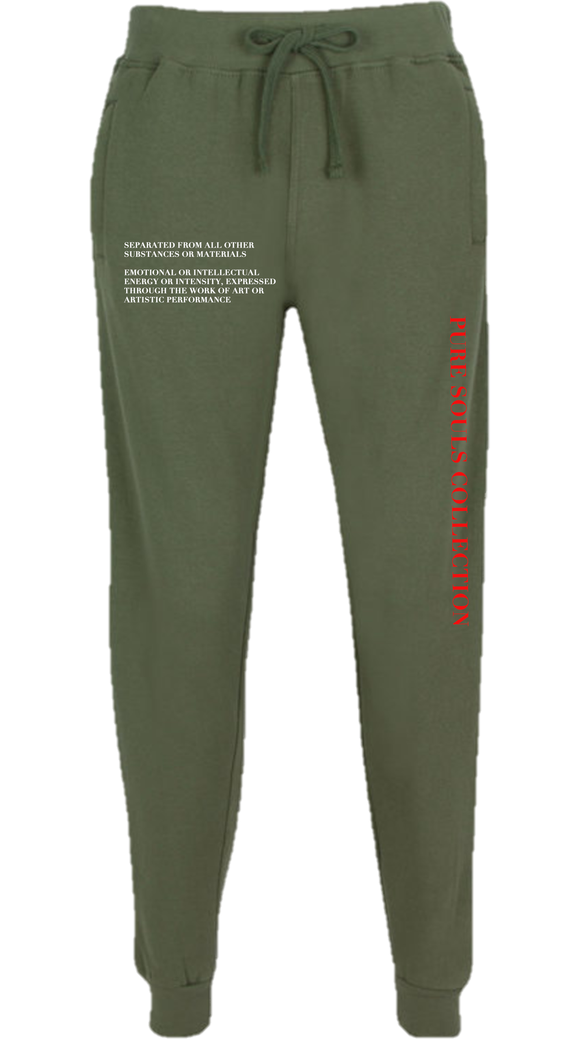 Image of OLIVE GREEN PANTS