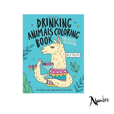 Image of The drunken animals coloring book