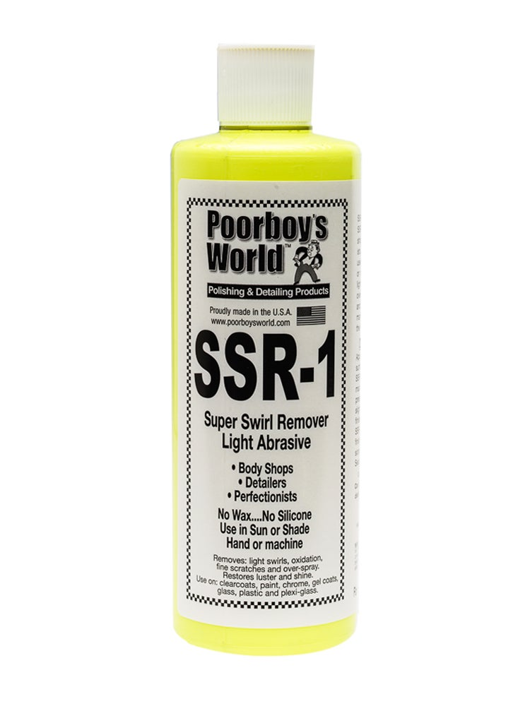 Image of Poorboy's World SSR1 Super Swirl Remover 16oz (473ml)