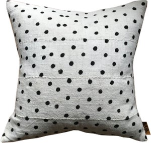 Image of Mudcloth POLKA Pillow Cover