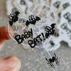 Baby Bat Clear Sticker