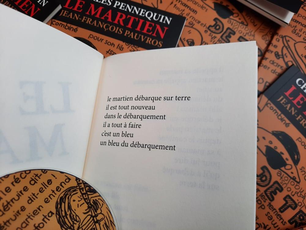 Image of Le Martien de Charles Pennequin & Jean-François Pauvros